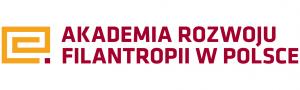 Logotyp Akademii Rozwoju Filantropii w Polsce