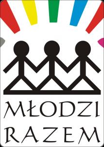 """Logotyp Fundacji Fundusz Lokalny Ziemi Płockiej """"Młodzi Razem"""""""