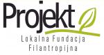 """Logotyp Lokalnej Fundacji Filantropijnej """"Projekt"""""""