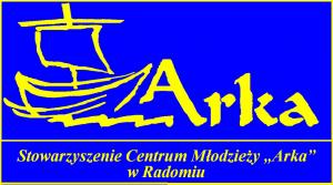 """Logotyp Stowarzyszenia Centrum Młodzieży """"Arka"""""""