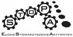 """Logotyp Ełckiego Stowarzyszenia Aktywnych """"STOPA"""""""