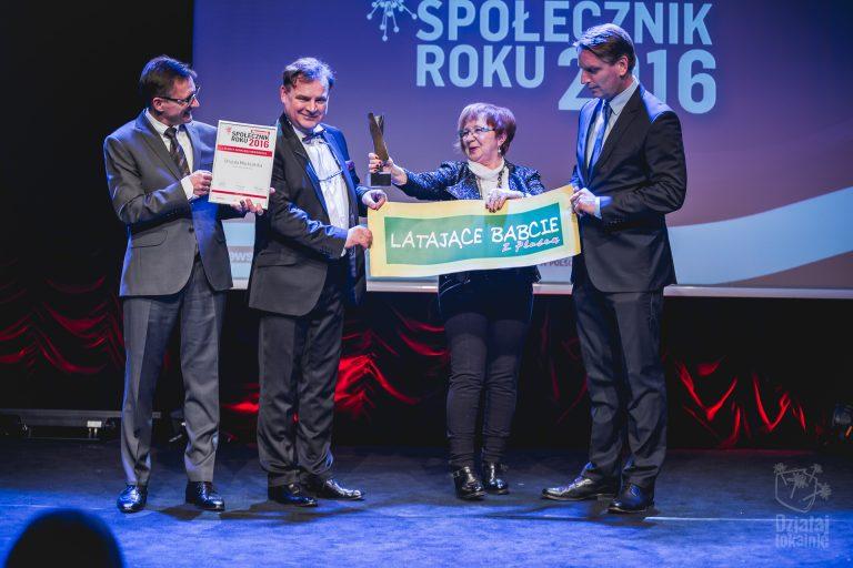 Wręczenie nagrody Społecznik Roku