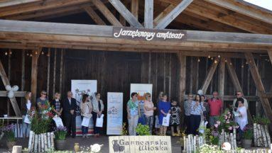 Uroczyste wręczenie dotacji - 3 czerwca 2017, Jarzębinowy Amfiteatr, Kamionka