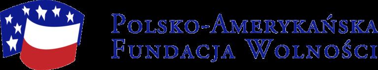 Logotyp Polsko-Amerykańskiej Fundacji Wolności