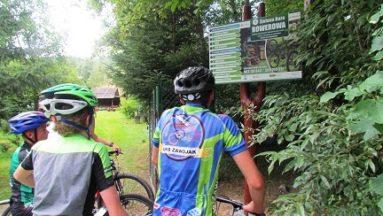 Kolejni rowerowi goście już na miejscu...