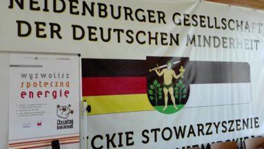 """Nidzickie Stowarzyszenie Mniejszości Niemieckiej w Nidzicy – """"Nie jesteśmy sami, książki mamy"""""""