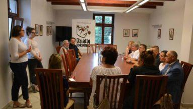 Spotkanie było okazją do omówienia podstawowych praw i obowiązków realizatorów