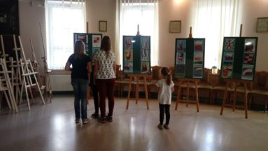 Wystawa w Dobrońskim Centrum Kultury