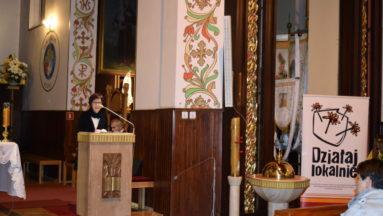Koncert prowadziła Małgorzata Dębkowska