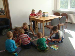 Dzieci miały czas nazabawę iodpoczynek