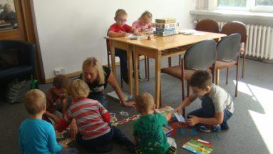 Dzieci miały czas na zabawę i odpoczynek