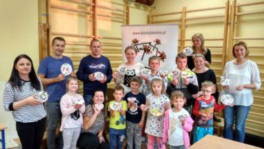 Warsztaty z decoupage organizowane w Specjalnym Ośrodku Szkolno- Wychowawczym w Hajnówce