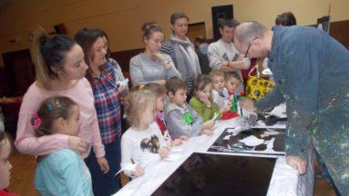 Warsztaty plastyczne w Muzeum i Ośrodku Kultury Białoruskiej w Hajnówce