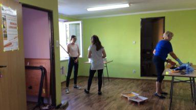 Malowanie pomieszczenia przeznaczonego na pracownię