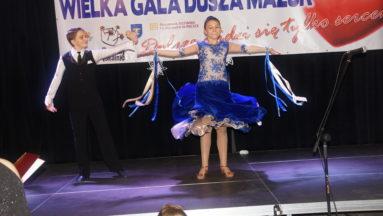 Mistrzowie Polski w kategorii D tańca towarzyskiego - wystę goscinny