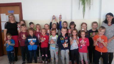Uczniowie uczestniczący w projekcie