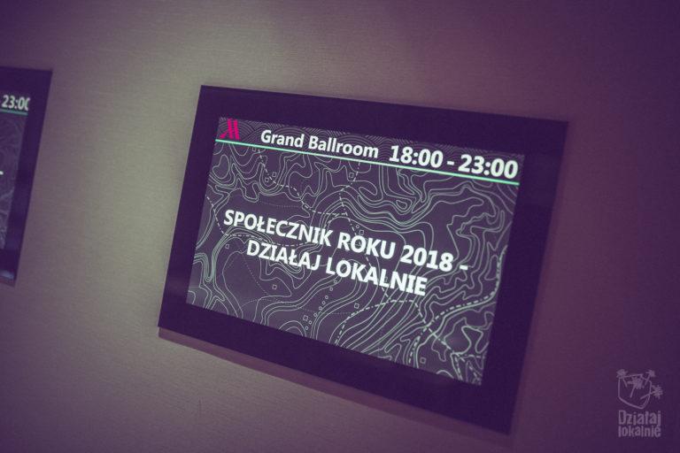 Gala Działaj Lokalnie i Społecznika Roku