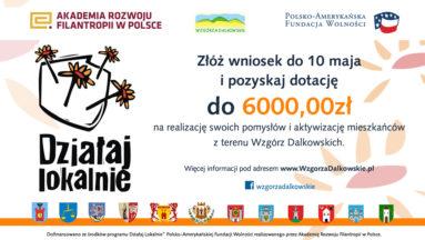Więcej informacji na www.WzgorzaDalkowskie.pl oraz na fanpejdżu @wzgorzadalkowskie