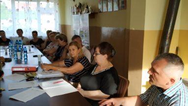 Uczestnicy projektu podczas warsztatów.