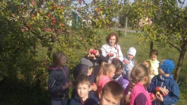 Dzieci w sadzie