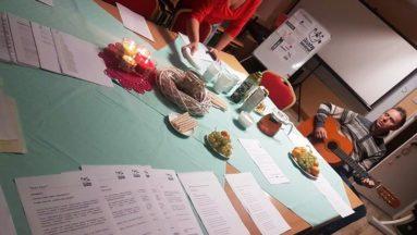 Przygotowania kulinarne do warsztatów i muzyczne...