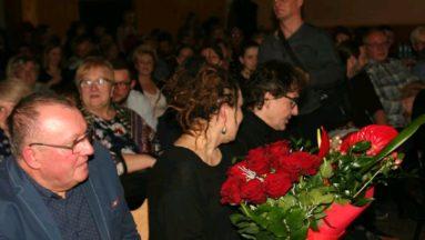 Olga Tokarczuk na widowni