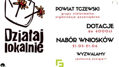 Grafika przedstawia podstawowe informacje na temat naboru DL 2020 w powiecie tczewskim.