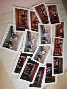 Wydruki zdjęć wykonanych podczas warsztatów