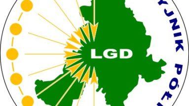 """Grafika przedstawia logo LGD """"Naszyjnik Północy"""""""