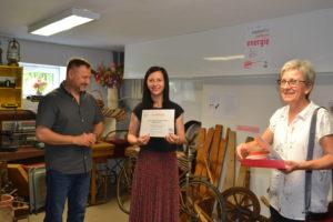 Stowarzyszenie Przyjaciół Ziemi Radzanowskiej gościło nas wsamym sercu projektu