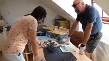 odbyły się także konsultacje z kustoszem z muzeum