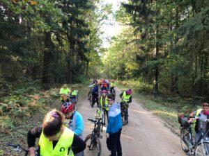 wyprawa rowerowa przezPuszczę Białowieską